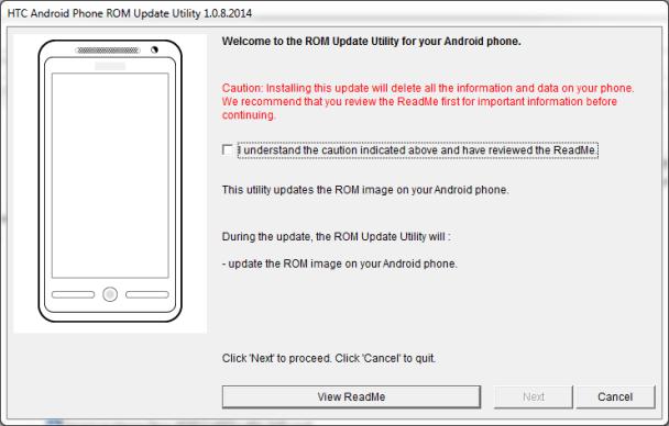 Update step 3 608x388 - آموزش فلش گوشی های htc به صورت تصویری