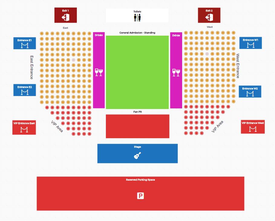 21 - افزونه Tickera | رزرو صندلی و صدور بلیط مانند ایران کنسرت