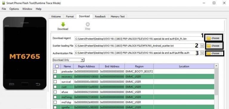 Vivo Y81 Frp Lock Remove 768x367 - دانلود فایل حذف frp گوشی تکنو Tecno K9
