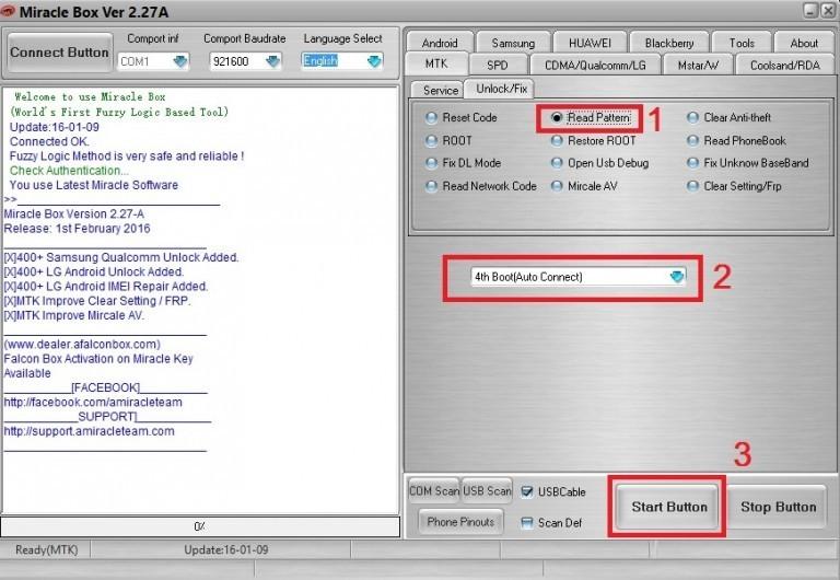 03 - آموزش حذف قفل پترن گوشی های مدیاتک بدون حذف اطلاعات